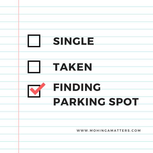 Finding parking spot